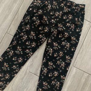 Nordstrom Work Floral Pants ✨